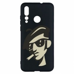 Huawei Nova 4 Case Guy with a cigarette