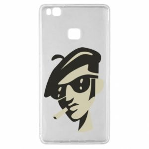 Huawei P9 Lite Case Guy with a cigarette