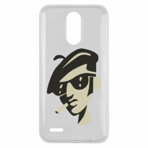 Lg K10 2017 Case Guy with a cigarette