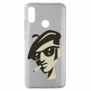 Huawei Honor 10 Lite Case Guy with a cigarette