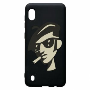 Samsung A10 Case Guy with a cigarette