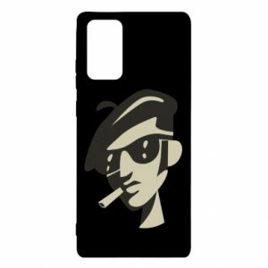 Samsung Note 20 Case Guy with a cigarette
