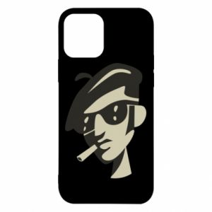 iPhone 12/12 Pro Case Guy with a cigarette