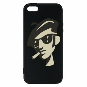 iPhone 5/5S/SE Case Guy with a cigarette