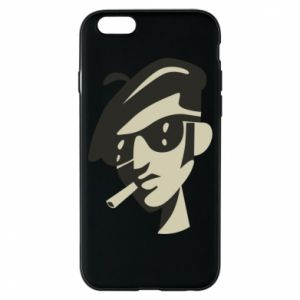 iPhone 6/6S Case Guy with a cigarette