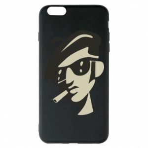 iPhone 6 Plus/6S Plus Case Guy with a cigarette