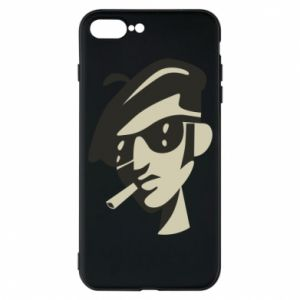iPhone 7 Plus case Guy with a cigarette