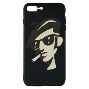 iPhone 8 Plus Case Guy with a cigarette