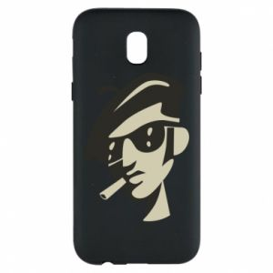 Samsung J5 2017 Case Guy with a cigarette