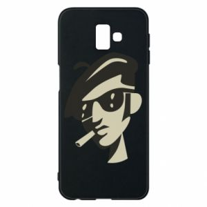 Samsung J6 Plus 2018 Case Guy with a cigarette