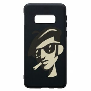Samsung S10e Case Guy with a cigarette
