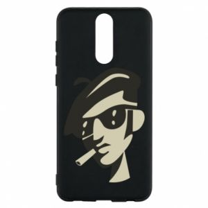 Huawei Mate 10 Lite Case Guy with a cigarette