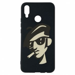 Huawei P Smart Plus Case Guy with a cigarette