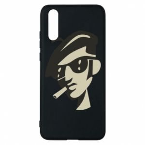 Huawei P20 Case Guy with a cigarette