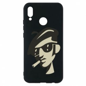 Huawei P20 Lite Case Guy with a cigarette