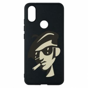 Xiaomi Mi A2 Case Guy with a cigarette