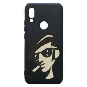 Xiaomi Redmi 7 Case Guy with a cigarette