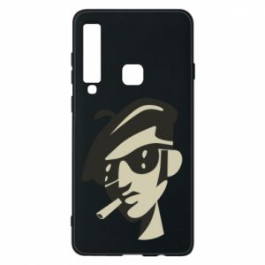 Samsung A9 2018 Case Guy with a cigarette