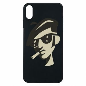 iPhone Xs Max Case Guy with a cigarette
