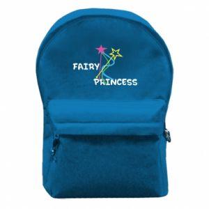 Plecak z przednią kieszenią Fairy princess