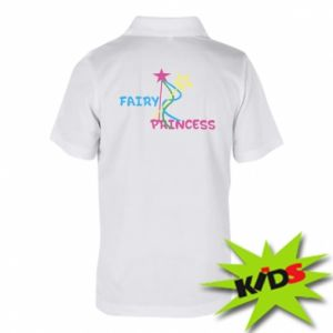 Koszulka polo dziecięca Fairy princess