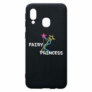 Etui na Samsung A40 Fairy princess