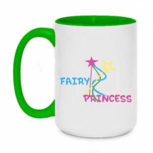 Kubek dwukolorowy 450ml Fairy princess