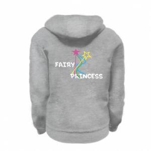 Bluza na zamek dziecięca Fairy princess