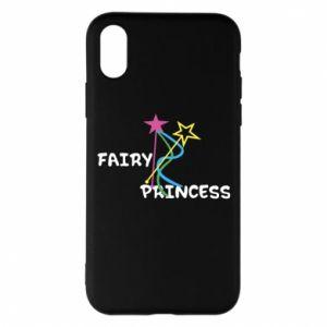 Etui na iPhone X/Xs Fairy princess