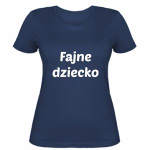 Women's t-shirt Cool baby cool inscription