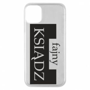Phone case for iPhone 11 Pro Nice priest