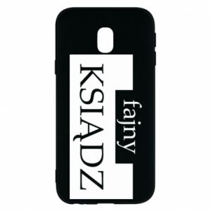Phone case for Samsung J3 2017 Nice priest