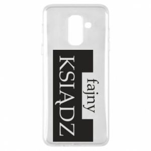 Phone case for Samsung A6+ 2018 Nice priest