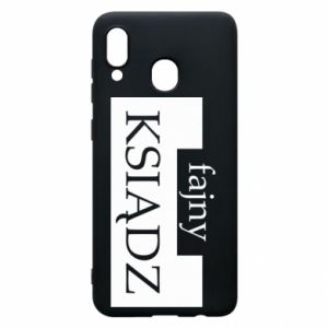 Phone case for Samsung A20 Nice priest