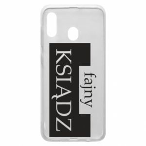 Phone case for Samsung A30 Nice priest