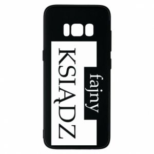 Phone case for Samsung S8 Nice priest