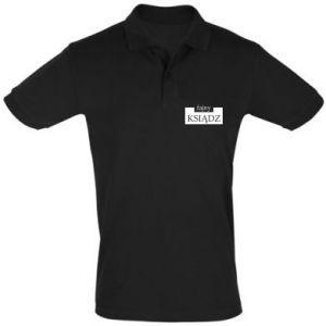 Koszulka Polo Fajny ksiądz