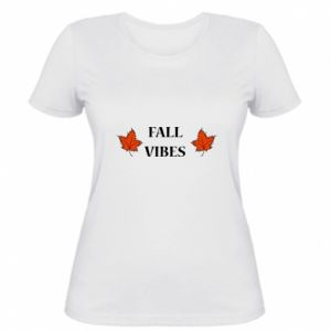 Women's t-shirt Fall vibes