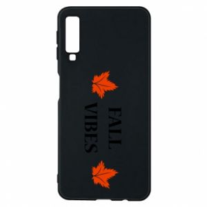 Phone case for Samsung A7 2018 Fall vibes