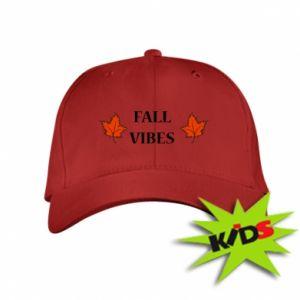Kids' cap Fall vibes
