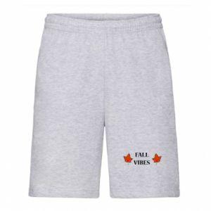 Men's shorts Fall vibes