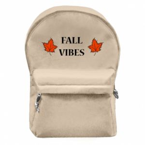 Backpack with front pocket Fall vibes