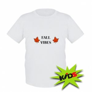 Kids T-shirt Fall vibes