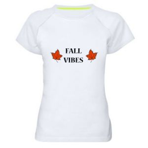 Women's sports t-shirt Fall vibes