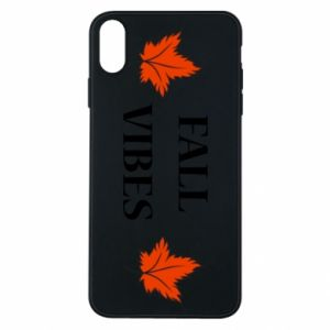 Phone case for iPhone Xs Max Fall vibes
