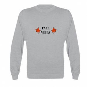 Kid's sweatshirt Fall vibes