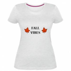 Women's premium t-shirt Fall vibes