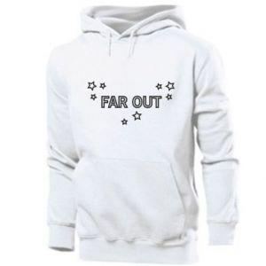 Męska bluza z kapturem Far out