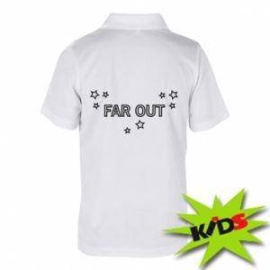 Dziecięca koszulka polo Far out
