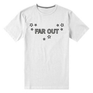 Męska premium koszulka Far out